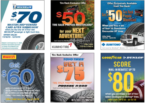 Tire Rack Cyber Monday 2019 Sale Rebates Blackerfriday Com