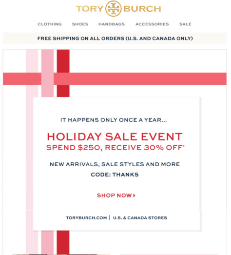 Tory Burch Black Friday 2015 Ad - Page 1