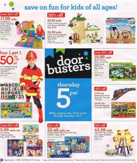 Toys R Us Black Friday 2015 Ad - Page 4