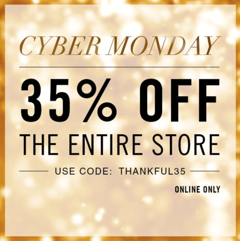 True Religion Cyber Monday Ad - Page 1