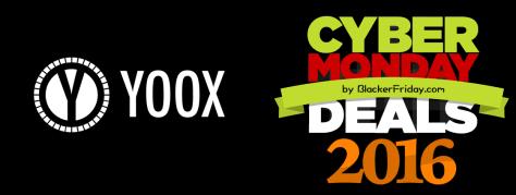 Yoox Cyber Monday 2016