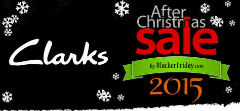 Clarks After Christmas Sale 2015