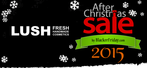 Lush After Christmas Sale 2015