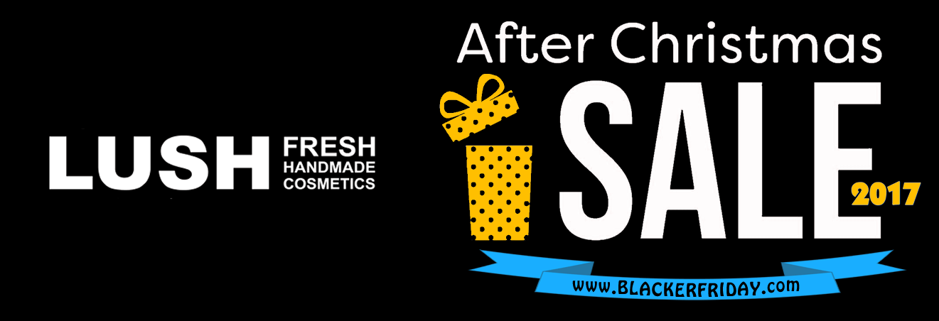 Lush Cosmetics Black Friday 2017 Sale | Blacker Friday