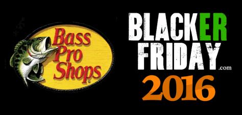 Bass Pro Shops Black Friday 2016