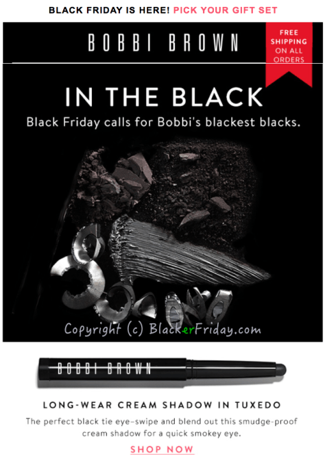 Bobbi Brown Black Friday Ad Scan - Page 1