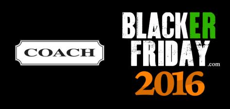 Coach Black Friday 2016