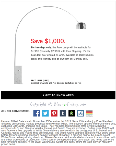 Design Within Reach Black Friday Ad Scan - Page 3