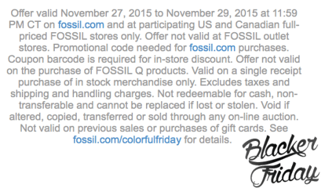 Fossil black friday sale - page 2