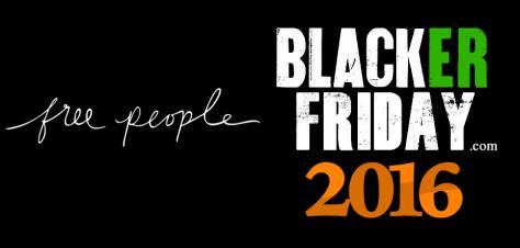 Free People Black Friday 2016