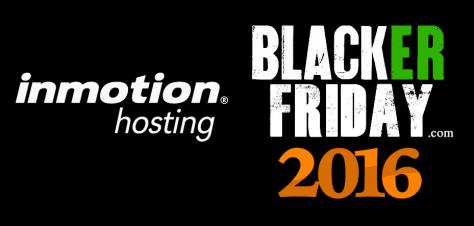 Inmotion Hosting Black Friday 2016