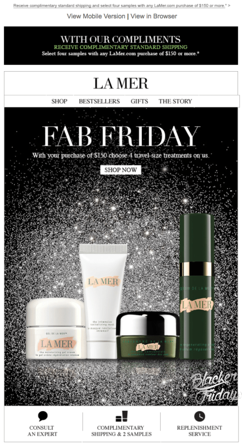 La Mer Black Friday Sale - Page 1