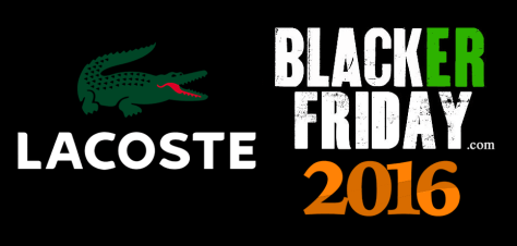 Lacoste Black Friday 2016