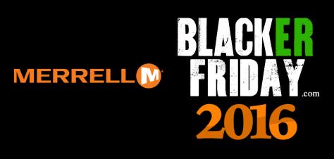 Merrell Black Friday 2016