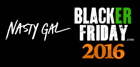 Nasty Gal Black Friday 2016