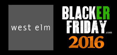 West Elm Black Friday 2016