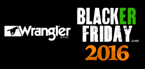 Wrangler Black Friday 2016