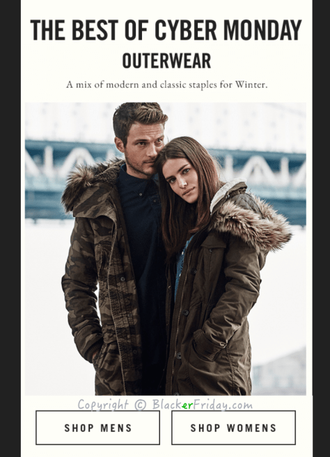 Abercrombie and Fitch Cyber Monday Ad Scan - Page 4