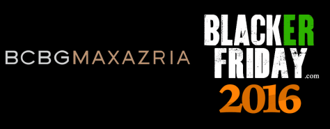 BCBG Maxazria Black Friday 2016