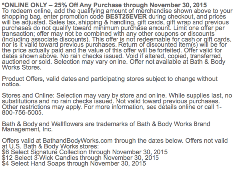 Bath and Body Works Cyber Monday Ad Scan - Page 3