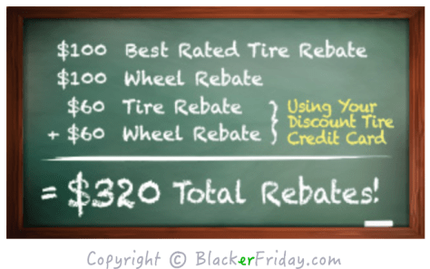 Discount Tire Cyber Monday Ad Scan - Page 2
