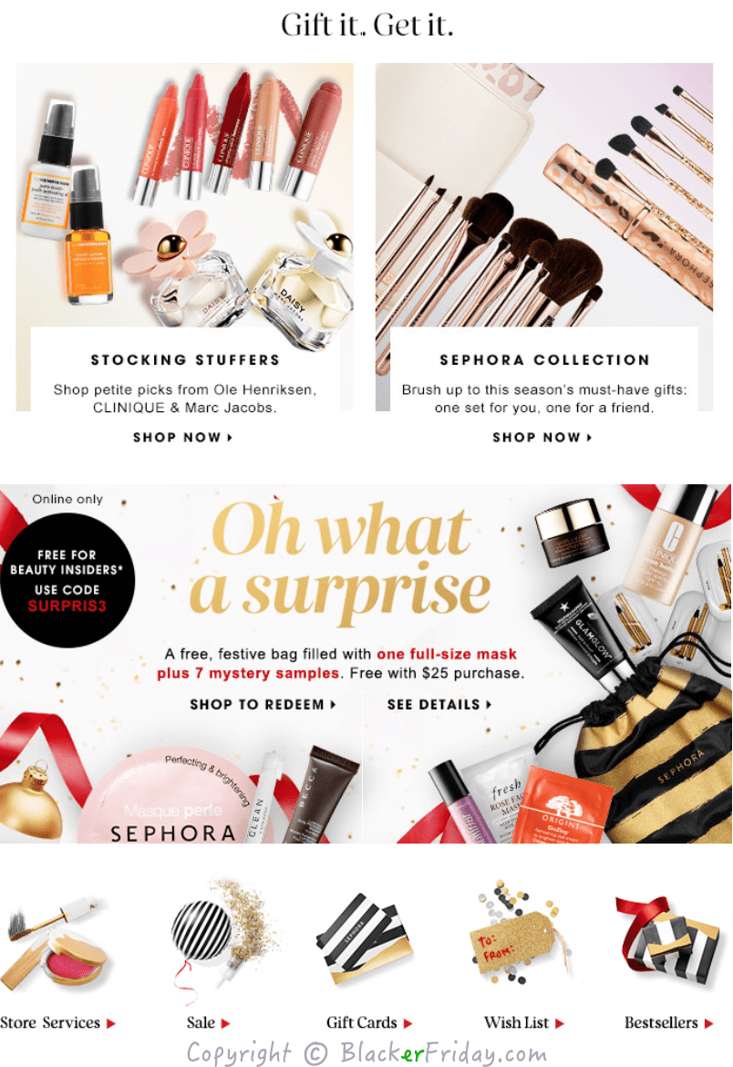Sephora Cyber Monday 2017 Sale & Perfume Deals | Blacker Friday