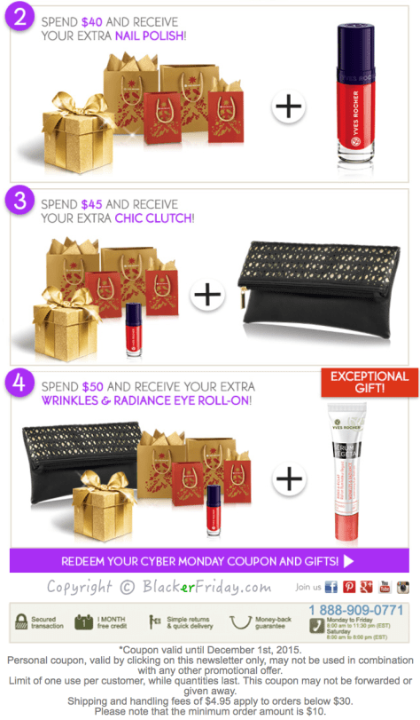 Yves Rocher Cyber Monday Ad Scan - Page 2