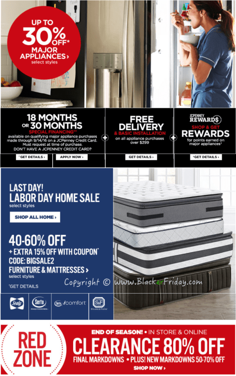 JC Penney Labor Day 2016 Sale - Page 2