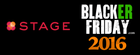 Stage Black Friday 2016