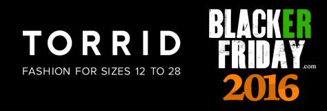 Torrid Black Friday 2016