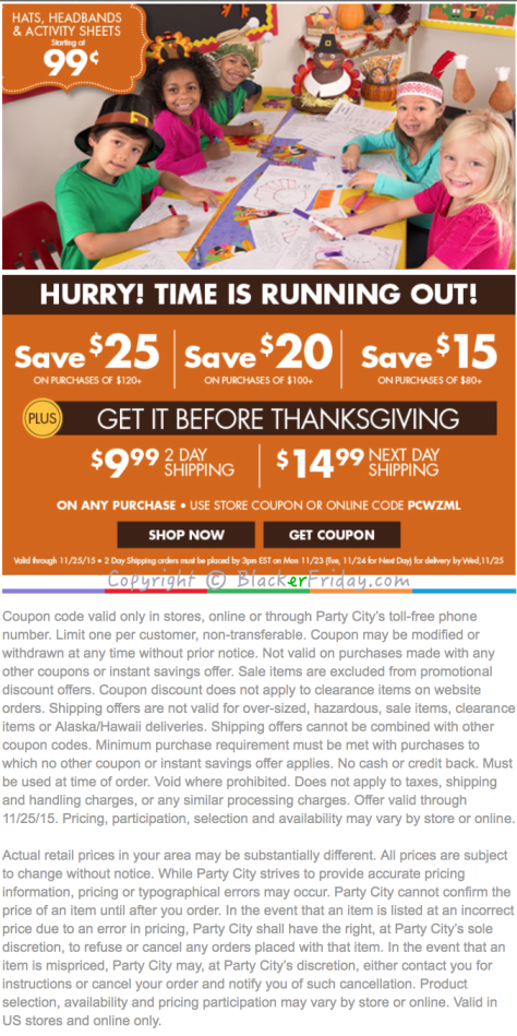 Party City Black Friday Ad Scan 2016 - Page 2