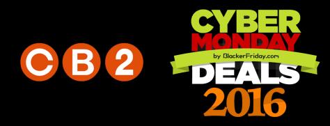 CB2 Cyber Monday 2016