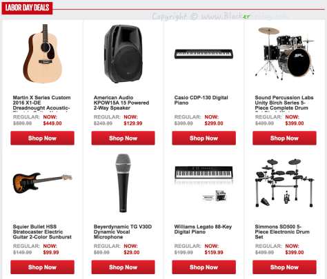 Guitar Center Labor Day 2016 Sale - Page 2