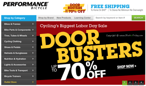 Performance Bike Labor Day 2016 Sale - Page 1