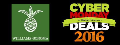 Williams Sonoma Cyber Monday 2016