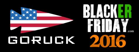 GoRuck Black Friday 2016
