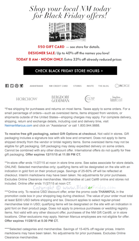 c17dda637305c6 Neiman Marcus Black Friday 2019 Sale & Deals - BlackerFriday.com