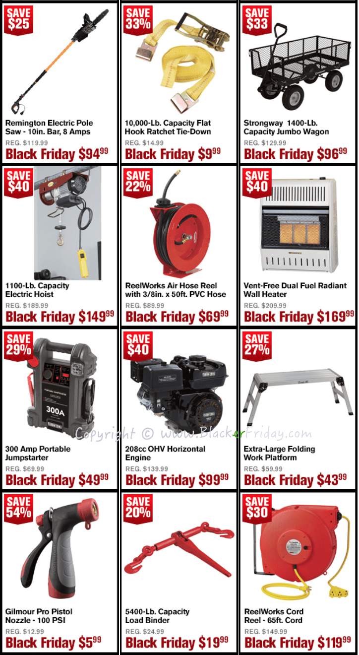 Northern Tool Black Friday 2018 Sale Amp Ad Blacker Friday