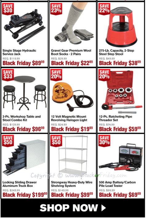 Northern Tool Black Friday Sale Flyer - Page 5