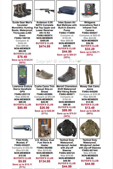 The Sportsmans Guide Black Friday Sale Flyer - Page 2