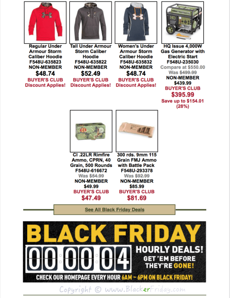 The Sportsmans Guide Black Friday Sale Flyer - Page 4