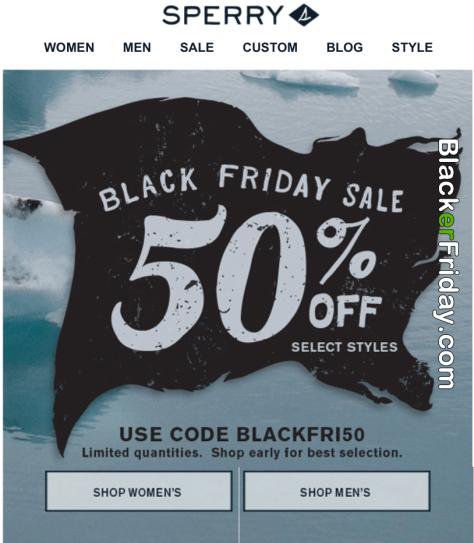 8e21d2bfb7 Sperry Black Friday 2019 Sale   Deals - BlackerFriday.com