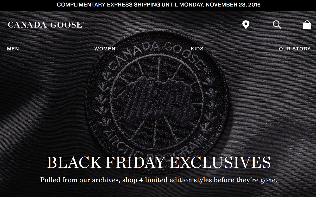 canada goose london black friday