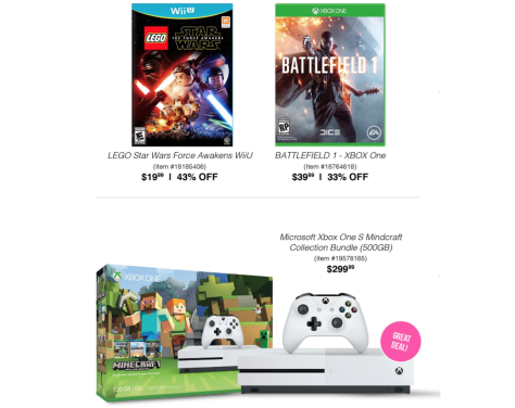 Xbox One S Black Friday 2018 Sale & Bundle Deals | Blacker Friday