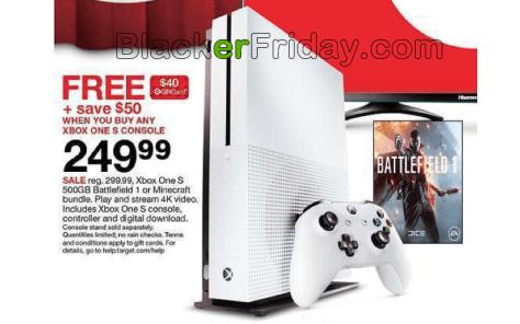 80176872032 Xbox One S Black Friday 2019 Sale   Bundle Deals - BlackerFriday.com