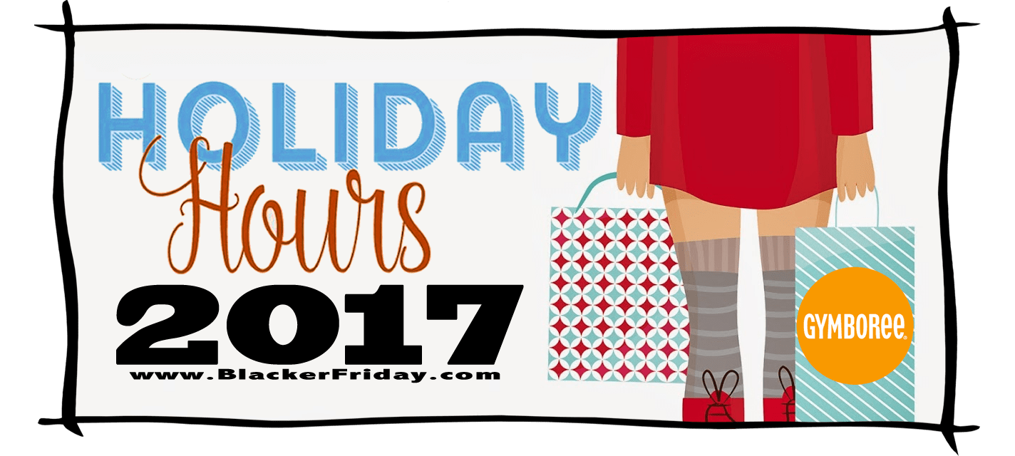 Gymboree Black Friday Store Hours 2017
