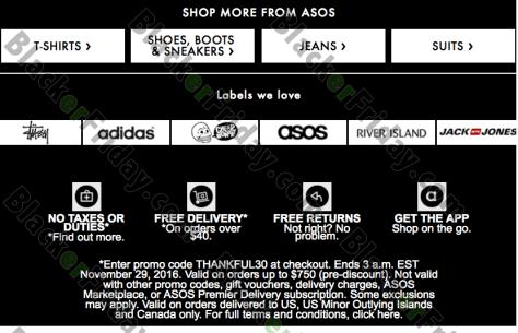 d206ee2302ab ASOS Cyber Monday 2019 Sale & Deals - BlackerFriday.com