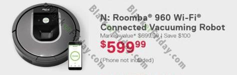 iRobot Roomba Black Friday 2019 Sale & Deals - BlackerFriday com