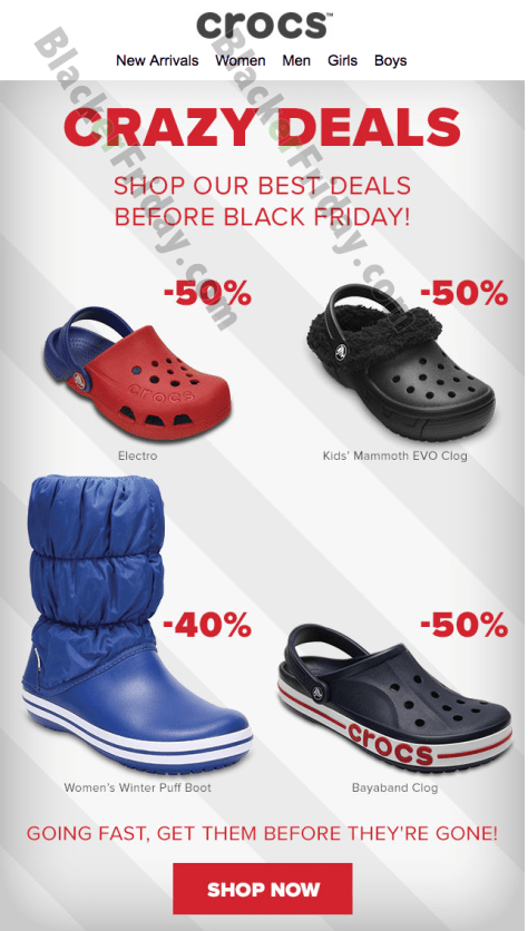 4f4302e4b33185 So what s new from Crocs this season  Here are a few of our favorite picks