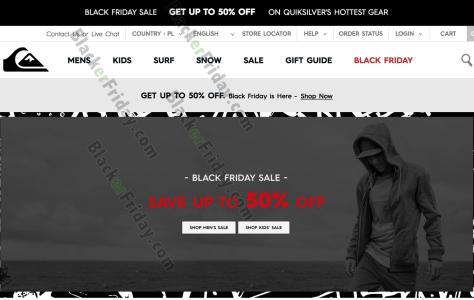 Quiksilver Black Friday 2019 Sale & Outlet Deals